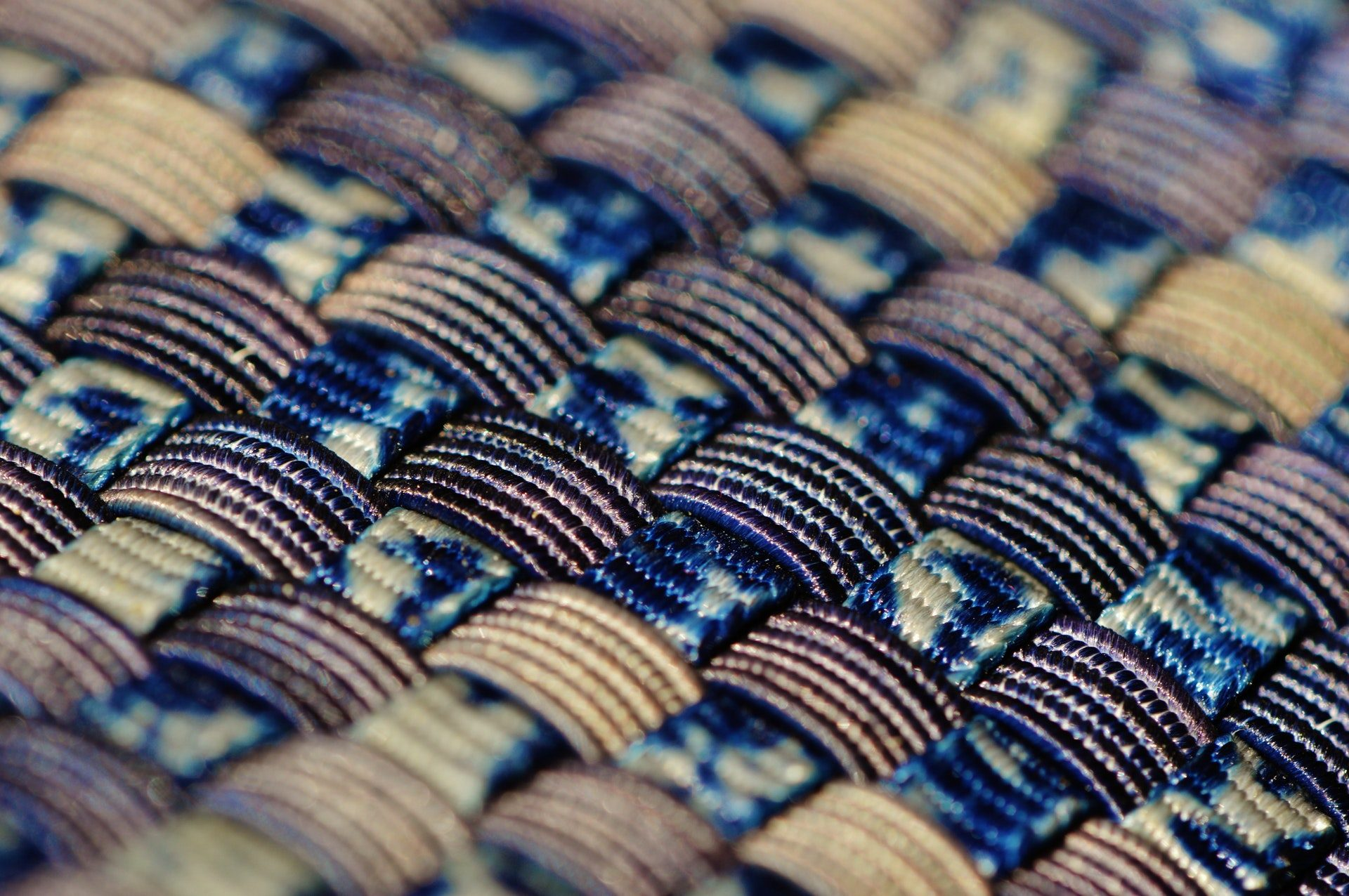 blue-black-and-gold-woven-textile-159049
